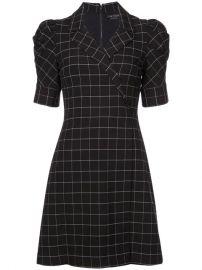 Alice Olivia Check Print Dress - Farfetch at Farfetch