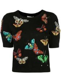 Alice Olivia Ciara Butterfly Sweater - Farfetch at Farfetch