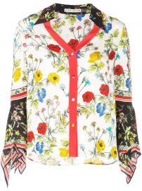 Alice Olivia Floral Print Blouse - Farfetch at Farfetch