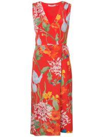 Alice Olivia Floral Print Dress at Farfetch