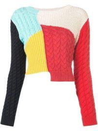 Alice Olivia Lebell colour-block Jumper - Farfetch at Farfetch
