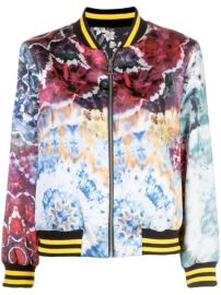Alice Olivia Lonnie Tie Dye Bomber Jacket - Farfetch at Farfetch