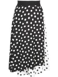 Alice Olivia Nanette Mock Wrap Skirt - Farfetch at Farfetch