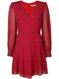 Alice Olivia Polly Leopard Flared Dress - Farfetch at Farfetch