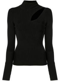 Alice Olivia Sophie Cutout Turtleneck Sweater - Farfetch at Farfetch