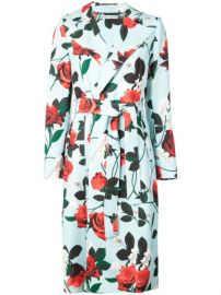 Alice Olivia Structured Floral Coat - Farfetch at Farfetch