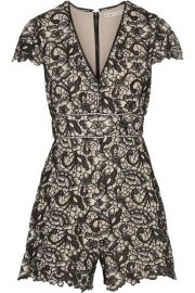 Alice Olivia Tinsley Romper at The Outnet