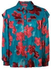 Alice Olivia Ziggy Floral Print Blouse - Farfetch at Farfetch