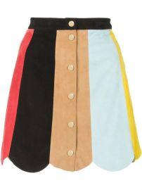 Alice Olivia colour-block Mini Skirt - Farfetch at Farfetch
