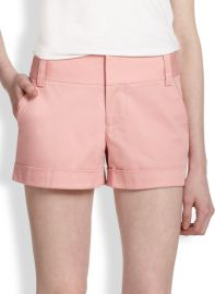 Alice and Olivia - Cady Stretch Cotton Shorts at Saks Fifth Avenue