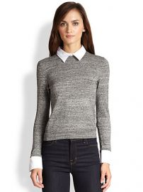 Alice and Olivia - Convertible WoolCotton Pullover at Saks Fifth Avenue