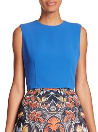 Alice and Olivia - Klynn Crop Top at Saks Fifth Avenue