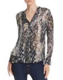 Alice and Olivia Alice   Olivia Amos Burnout Tunic  Women - Bloomingdale s at Bloomingdales