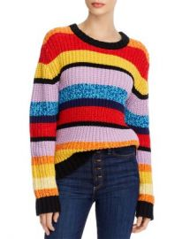 Alice and Olivia Alice   Olivia Barb Striped Sweater Women - Bloomingdale s at Bloomingdales