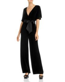 Alice and Olivia Alice   Olivia Breanna Velvet Wide-Leg Jumpsuit  Women - Bloomingdale s at Bloomingdales