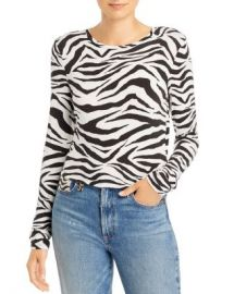Alice and Olivia Alice   Olivia Delaina Tiger Print Cropped Top  Women - Bloomingdale s at Bloomingdales