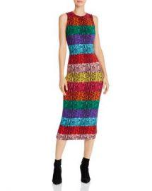 Alice and Olivia Alice   Olivia Delora Rainbow Snake Print Midi Dress  Women - Bloomingdale s at Bloomingdales