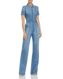 Alice and Olivia Alice   Olivia Gorgeous Wide-Leg Denim Jumpsuit   Women - Bloomingdale s at Bloomingdales