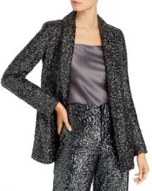 Alice and Olivia Alice   Olivia Jace Oversize Sequined Silk Blazer Women - Bloomingdale s at Bloomingdales