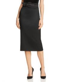 Alice and Olivia Alice   Olivia Kerstin Belted Pencil Skirt  Women - Bloomingdale s at Bloomingdales