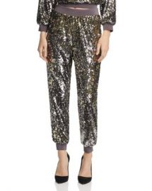 Alice and Olivia Alice   Olivia Pete Sequined Jogger Pants  Women - Bloomingdale s at Bloomingdales