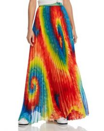 Alice and Olivia Alice   Olivia Shannon Tie-Dye Pleated Maxi Skirt Women - Bloomingdale s at Bloomingdales