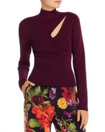 Alice and Olivia Alice   Olivia Sophie Cutout Turtleneck Top Women - Bloomingdale s at Bloomingdales