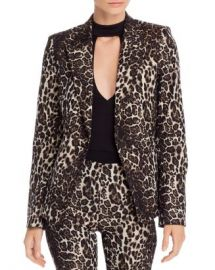 Alice and Olivia Alice   Olivia Toby Leopard Jacquard Blazer Women - Bloomingdale s at Bloomingdales