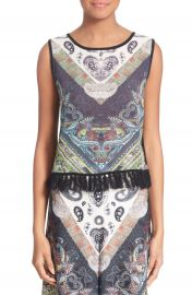 Alice and Olivia Annalea Paisley Print Tank at Nordstrom