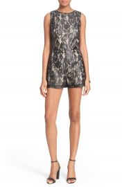 Alice and Olivia Ashleigh Romper at Nordstrom