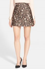 Alice and Olivia Jessa A-Line Skirt at Nordstrom