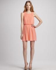 Alice and Olivia Mary Blouson Tank Dress at Neiman Marcus