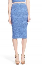 Alice and Olivia Morena Merino Wool Knit Pencil Skirt at Nordstrom