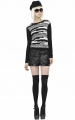Alice and Olivia Topanga sweater at Alice + Olivia