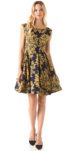 Alice and Olivia floral dress at Shopbop