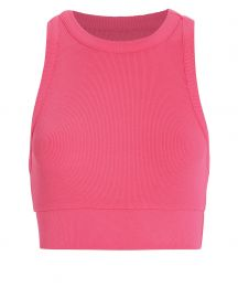 Alicia Ribbed Crop Tank at Intermix
