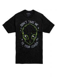 Alien Don\'t Take Me Shirt at Hot Topic