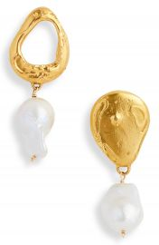 Alighieri The Infernal Storm Freshwater Pearl Drop Earrings   Nordstrom at Nordstrom