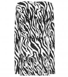 Alina zebra-print minidress at Mytheresa