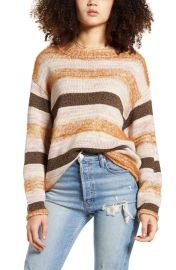 All In Favor Stripe Sweater   Nordstrom at Nordstrom