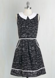 All Eyes on Unique Dress in Science at ModCloth