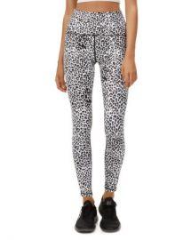 All Fenix Track-Stripe Leopard Print Leggings  Women - Bloomingdale s at Bloomingdales