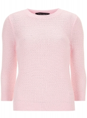 All Over Stitch Jumper at Dorothy Perkins