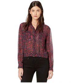 All Saints Adeliza Plume Shirt at Zappos
