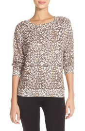 All Things Fabulous Animal Spots Crewneck Sweatshirt at Nordstrom