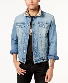 All or Nothing Denim Jacket by Guess   at Macys