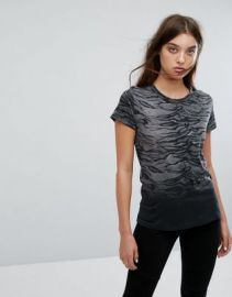 AllSaints Sweat T-Shirt in Tiger Print at asos com at Asos