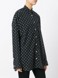 Allover Skull Print Shirt by R13 at Farfetch