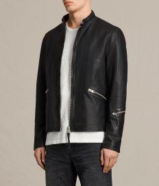 Allsaints Cruz Leather Jacket  at All Saints
