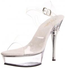 Allure platform sandals by Pleaser at Amazon